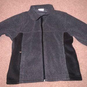 Columbia Kids Grey Fleece Jacket